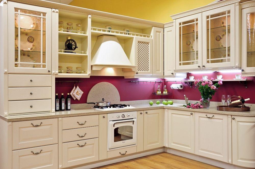 Кухня  дизайн  фото  г  образная